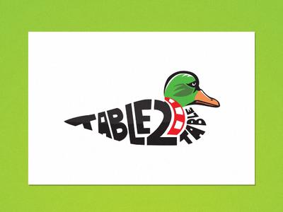 Table 2 Table Logo Design typography logo illustration detroit graphic designer flat design vector poker chips blackjack logo poker logo duck hunting mallard logo duck logo