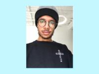 Embroidered Faith Cross Christian Sweatshirt