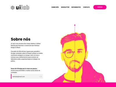 UI Lab Landing Page