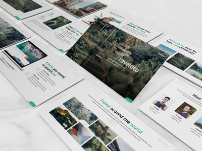 Traveloco – Tourism Presentation Template tour travel keynote template pitchdeck minimal clean simple slides presentation business presentation powerpoint template