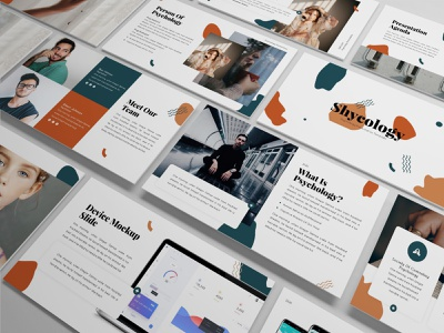 Shycology – Psychology Presentation Template shycology abstract clean minimal simple proposal keynote template slides lookbook pitchdeck presentation business presentation powerpoint template