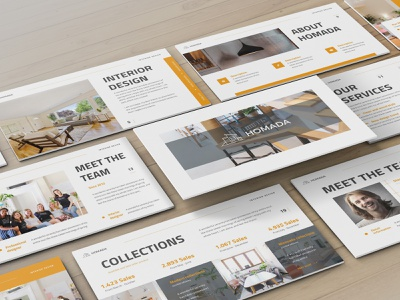 Homada – Architecture Presentation Template architecture proposal minimal clean keynote template lookbook simple slides pitchdeck business presentation presentation powerpoint template
