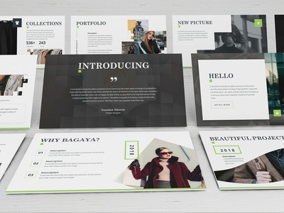 Bagaya - Fashion Powerpoint Template