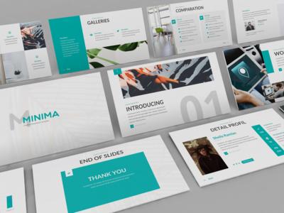 Minima - Minimal & Creative Powerpoint Template
