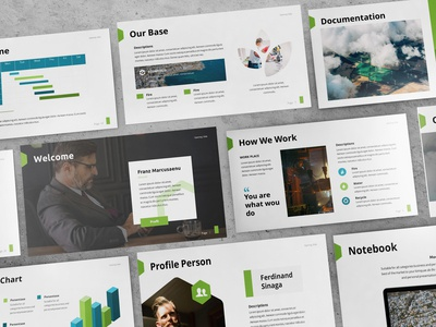 Ecoworld - Multipurpose Powerpoint Template