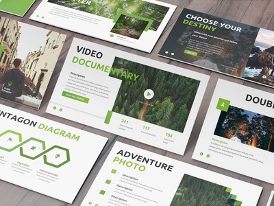 Puncak - Nature Powerpoint Template