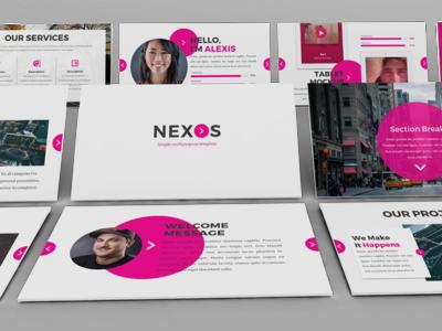 Nexos - Creative Powerpoint Template