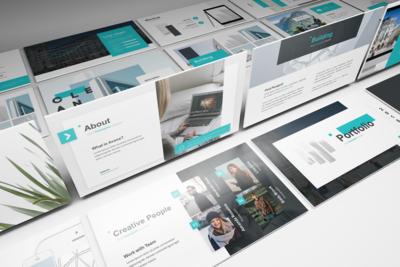 Avana - Architecture Powerpoint Template