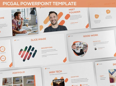 PICGAL -  Powerpoint Template