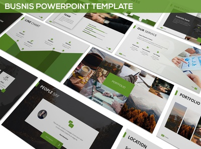 Busnis - Powerpoint Template