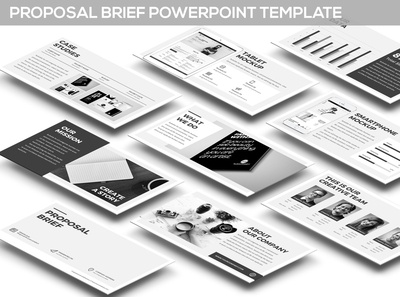 Proposal Brief Powerpoint Template