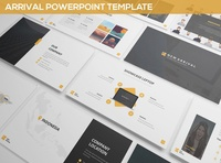 Arrival Powerpoint Template