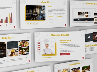 Foodian - Delicious Powerpoint Template