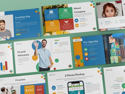 Nherera - Kids & Education Powerpoint Template