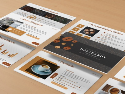Hakibarot - Coffeeshop Powerpoint Template