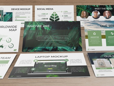 Aftearth - Eco Powerpoint Template
