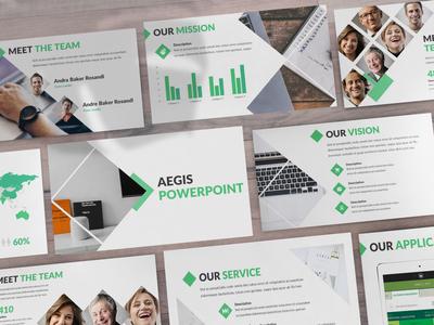 Aegis - Consultant Powerpoint Template