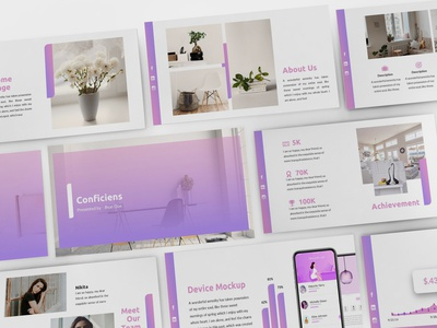 Conficiens - Design Interior Powerpoint Template
