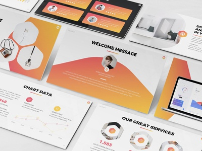 Hexagy - Hexagon Style Powerpoint Template