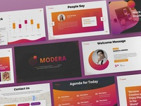 Modera - Networking Powerpoint Template
