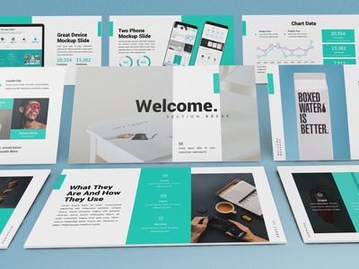 Dough - Creative Powerpoint Template