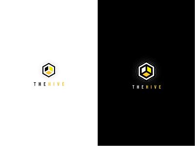 THEHIVE brand identity logo
