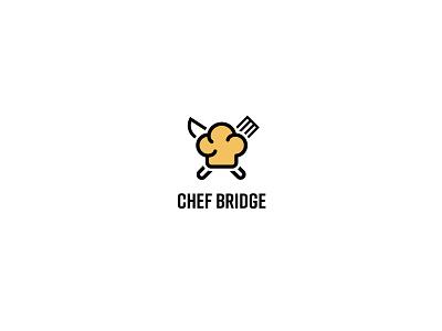 chef bridge logo logo design brand identity
