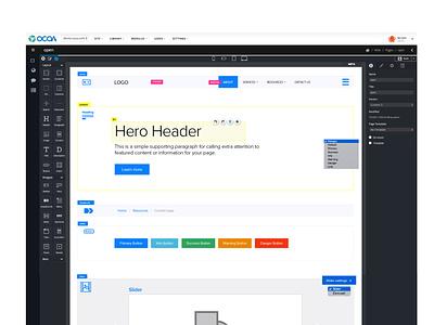 OCOA UI Product Design icons product design ui design ui