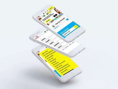 mobile design school website school website website design mobile design