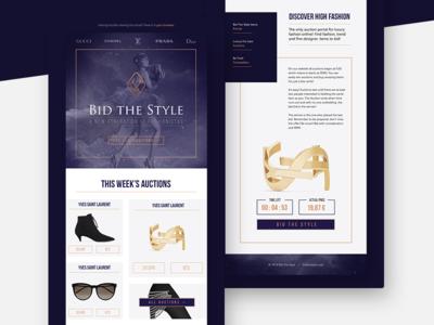 Bid the Style - mailing