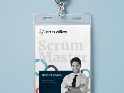 Brass Willow - agile branding materials