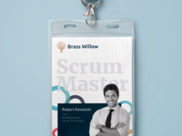 Brass Willow - agile branding materials