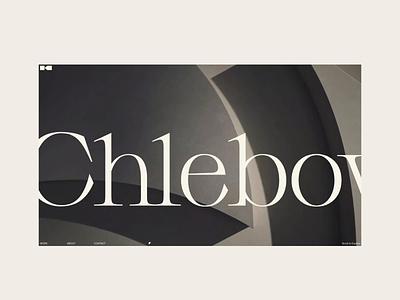 KCH 2021 interaction brand personal portfolio typogaphy geometry minimalist motion art direction webdesign