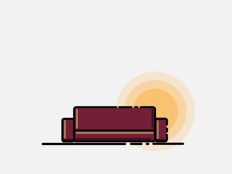 SOFA MBE STYLE icon branding logo vector mbe illustrator