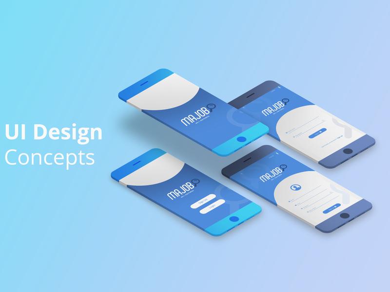 Log in Window | UI design Concepts design branding uidesigner webdesign applicaion app web uidesign ui pack ui