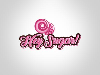 Hey Sugar! Logo design logo