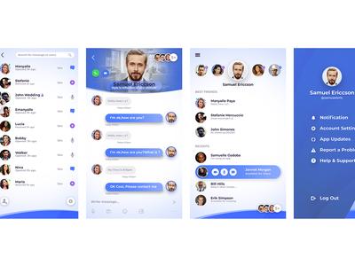 Chat Application Version7 V1 2 design ux ui app
