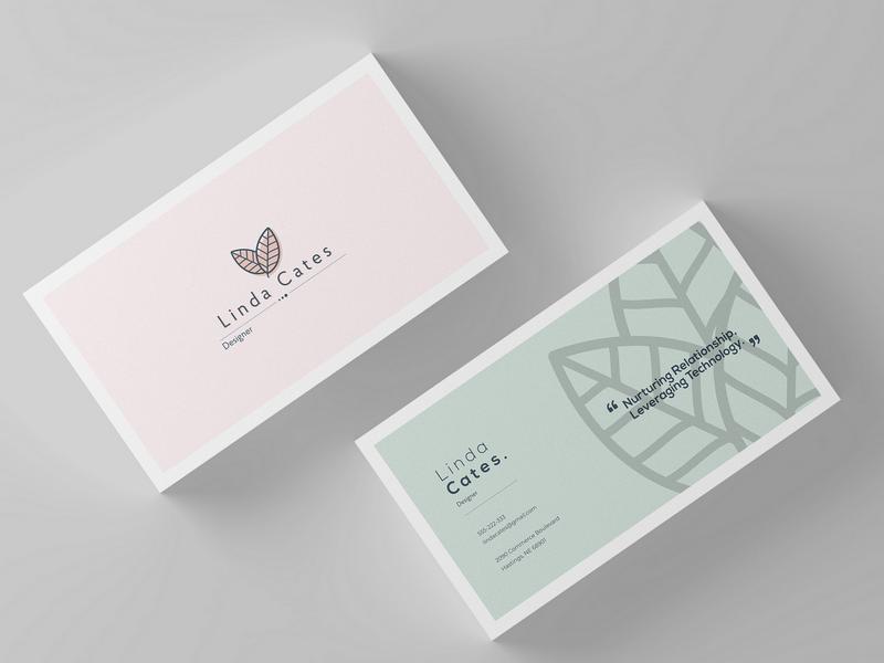Minimalist Business Card By Mateusz Fonfara Dribbble Dribbble