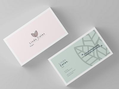 Minimalist business card elegant minimal graphic business card branding design