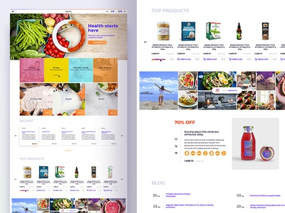 Healthy Food Webshop