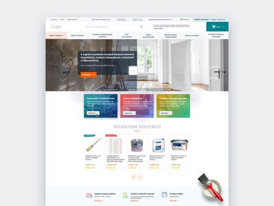 Home renovation webshop design