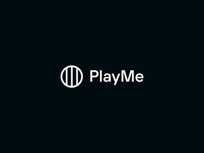 PlayMe - Logo animation animation logo brand branding transition morphing logo animation motion vector after effects logotype symbol