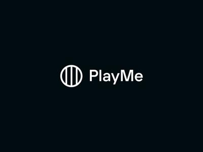PlayMe - Logo animation animation logo brand branding transition morphing logo animation motion vector after effects logotype symbol
