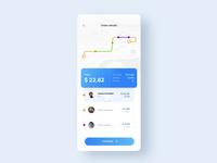 Taxi App - Split Payment