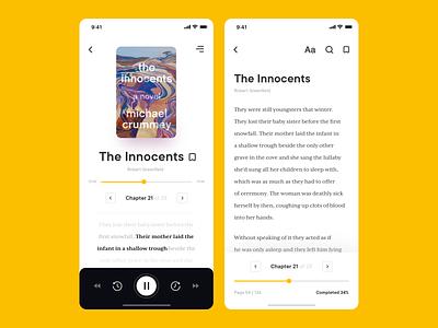 Book Store App Concept ux ui store sdh reading mobile app mobile library interface ebook design bookshop books audiobook app