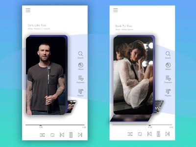 Music App Concept | UI/UX Design