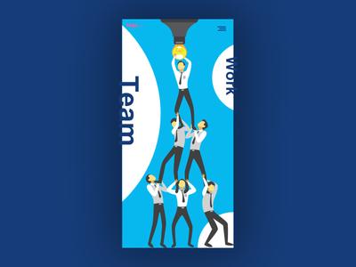 Team Page UI Design Concept | Responsive Design | Landing Page