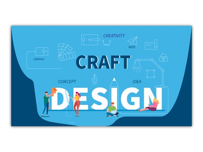 Landing Page | Craft on web hosting | SiteGround | Rebound illustration vector playoff rebound landing page design ux ui website design interaction design uiux landing design slider ux design ui design web hosting web craft landing page