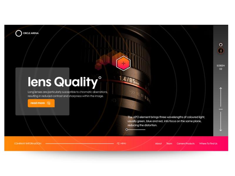 Camera Lens Web Ui Design ui design web design design we design web lens camera