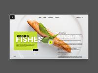 Restaurants landing Page.